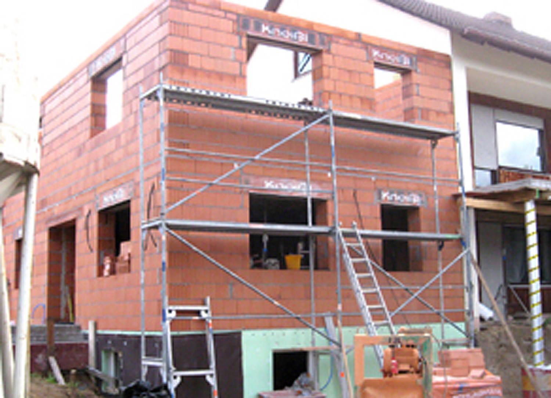 Anbau an ein bestehendes Wohnhaus